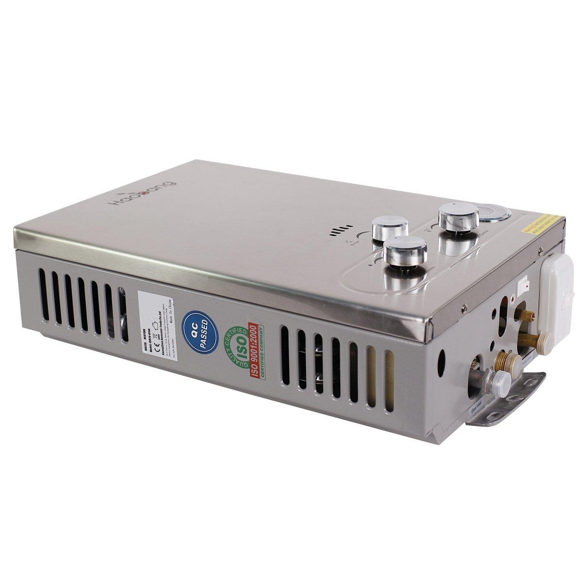 HB Sin tanque calentador de agua Gas patentado de modulación Tecnología JSD12-S02 (NG) metano: Amazon.es: Bricolaje y herramientas