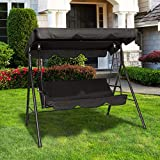 Circrane Outdoor Patio Swing Chair, Convertible