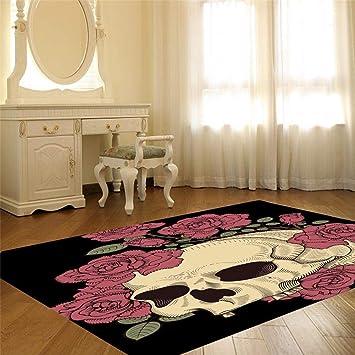 3D Teppich Cartoon Muster Wohnzimmer Schlafzimmer: Amazon.de ...