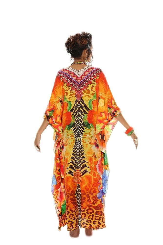 D G PRINTS FAB Women/'s Turkish Kaftan Beach wear Swimwear Bikini Cover ups Beach Dress