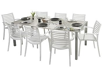 Amazon De Grosfillex Apos Gartenmobel Sunday Tisch Leinen