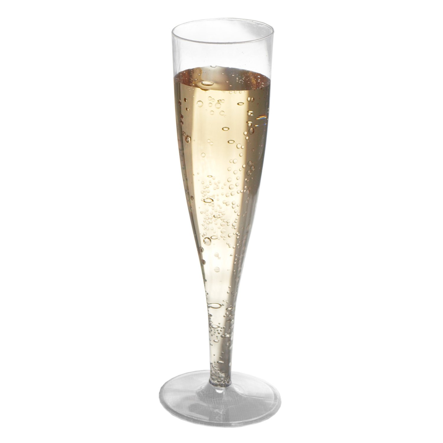 amazoncom party essentials 1 piece hard plastic champagne flutes box of 4 5 oz clear champagne glasses