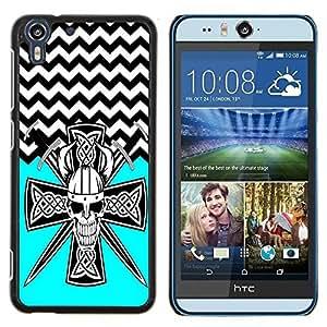 Dragon Case - FOR HTC Desire EYE M910x - Look into my eyes - Caja protectora de pl??stico duro de la cubierta Dise?¡Ào Slim Fit