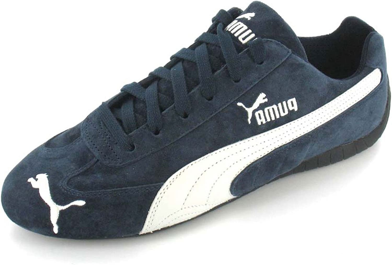 PUMA Speed Cat Trainers - Navy/White - 12: Amazon.co.uk ...