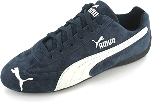 PUMA Speed Cat Trainers - Navy/White - 12: Amazon.co.uk ...