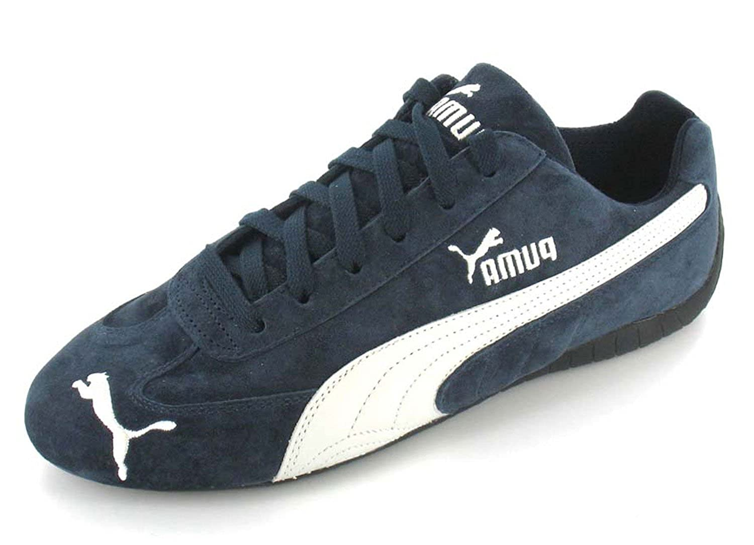 new arrivals f958e 66811 Puma Speed Cat Trainers - Navy/White - 12: Amazon.co.uk ...