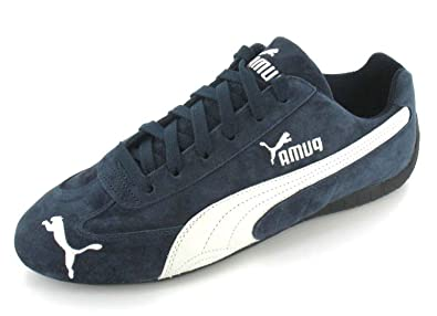 puma speed cat trainers blue