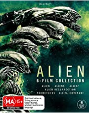 Alien: 6-Film Collection (Alien / Aliens / Alien 3 / Alien Resurrection / PromeTheus / Alien: Covenant) (Blu-ray)