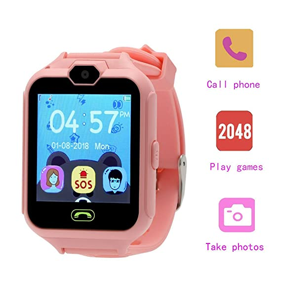 Hangang Phone Smart Game Watches Touch Screen Telephone Watch for Kids Kid Smartwatch Camera Games Touch