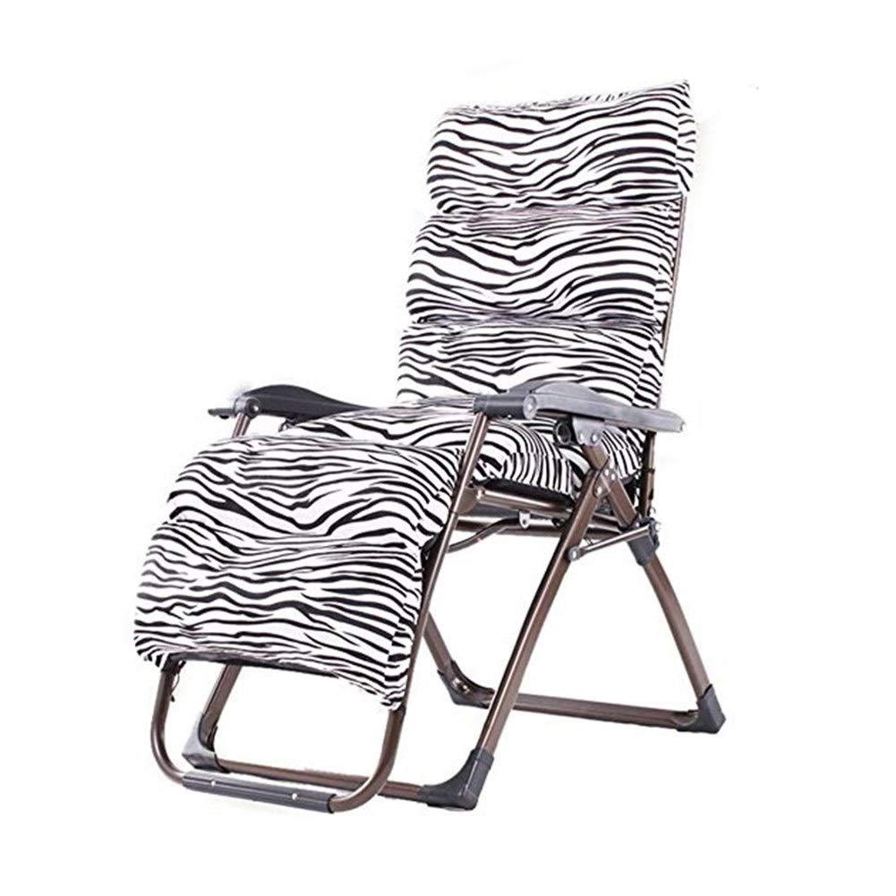 YYTLTY Folding Chair Multi-Level Reclining Chair, Folding Chair, Siesta Chair, Leisure Chair, Chair, Beach Chair, Outdoor Folding Chair154×80×65cm (Color : O) by YYTLTY
