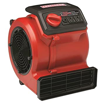 Craftsman | Best Floor Fan Air Blower For Drying Flat Surfaces | 3 Speed  Portable Air