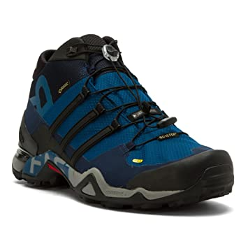 71e02f8bd5ee3 adidas outdoor Men s Terrex Fast R Mid GTX  Tech Steel Black Collegiate Navy