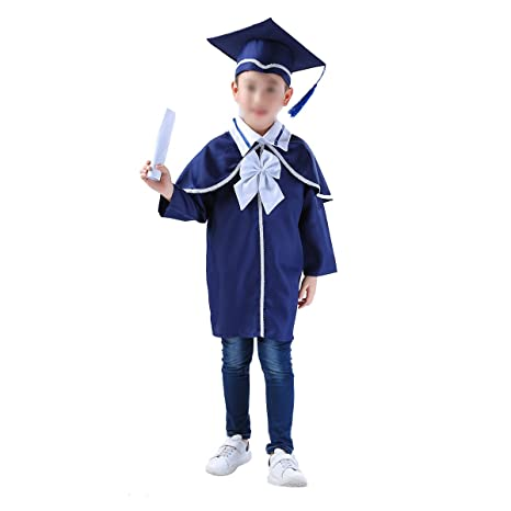 Buy Childrens Graduation Gown And Cap Doctoral Cap And Gown 120cm