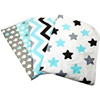Changing Pad Liners [3 Pack Large] -Portable Changing Mat - 100% Waterproof - Absorbent - Baby Shower Gift - Unisex…