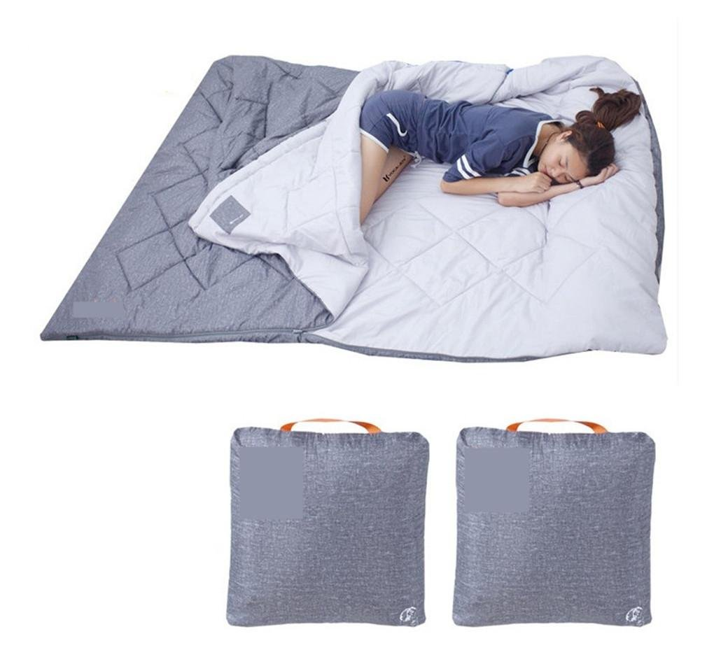 SHUIDAI 4 Jahreszeiten schlafen Beutel Winter Indoor Pure Baumwolle Portable Travel Taschen Outdoors Camping Wanderer Paar Familie