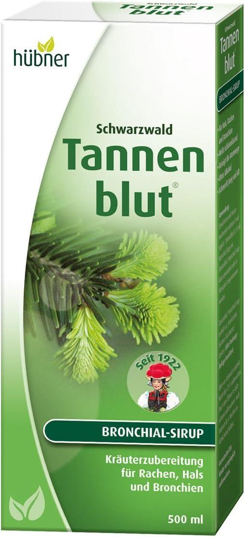 Hübner Tannenblut® Bronchial-Sirup Trinksaft 500 ml