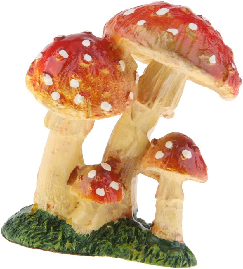 Amazon.es: Fenteer Decoración De La Mesa De Hongos En Miniatura - Setas En Miniatura De Resina De Hadas del Jardín - Amarillo Rojo c: Juguetes y juegos