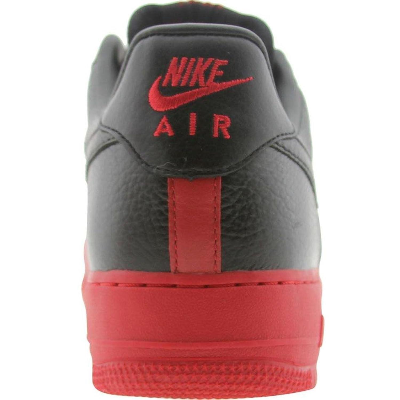 Uomo Nike Air Force 1 Basse Scarpe Casual Bianco / Bianco / Varsity-rosso / Nero KSsnybSQB