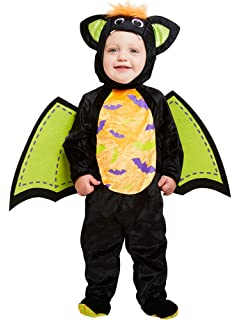 toddler halloween iddy biddy bat costume boys u0026 girls fancy dress months
