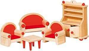 Goki Furniture for Flexible Puppets Living-Room