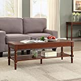 Convenience Concepts 6042184ES French Country Coffee Table, Espresso