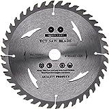 Lame de scie circulaire de qualité supérieure (Skill) 185mm de scie pour disques de coupe de bois circulaire 185x 20x 40t