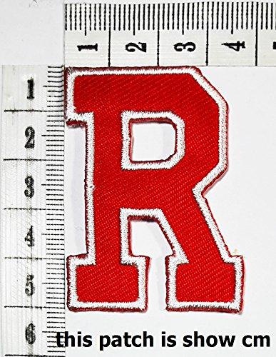 Red-letter-R-patch-logo-Sew-On-Patch-Clothes-Bag-T-Shirt-Jeans-Biker-Badge-Applique