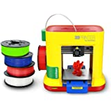 FREE XYZprinting da Vinci miniMaker 3D Printer (With Purchase of 12 PLA filaments-Nature3, Clear-Red3, Blue3, Neon-Green3 - All Sales Are Final And Cannot Be Returned)