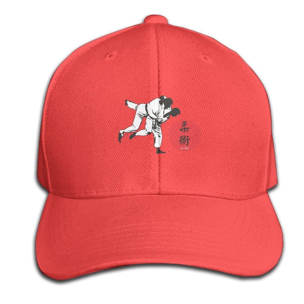 Baseball Hats Judo Silhouette Snapback Sandwich Cap Adjustable Peaked Trucker Cap