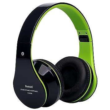 Auriculares Bluetooth, weant headstes de diadema Bluetooth 4.0, plegable, tarjeta de música estéreo