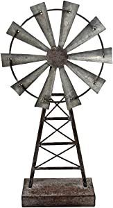 Foreside Home & Garden Foreside Small Windmill Table Décor,
