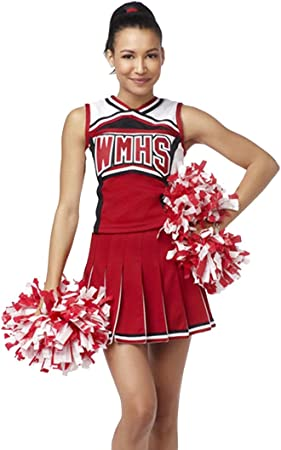 YipGrace Mujer Colegio Béisbol Animadora Outfit Uniforme Disfraz ...