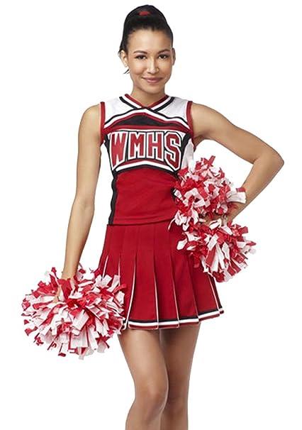 YipGrace Mujer Colegio Béisbol Animadora Outfit Uniforme ...