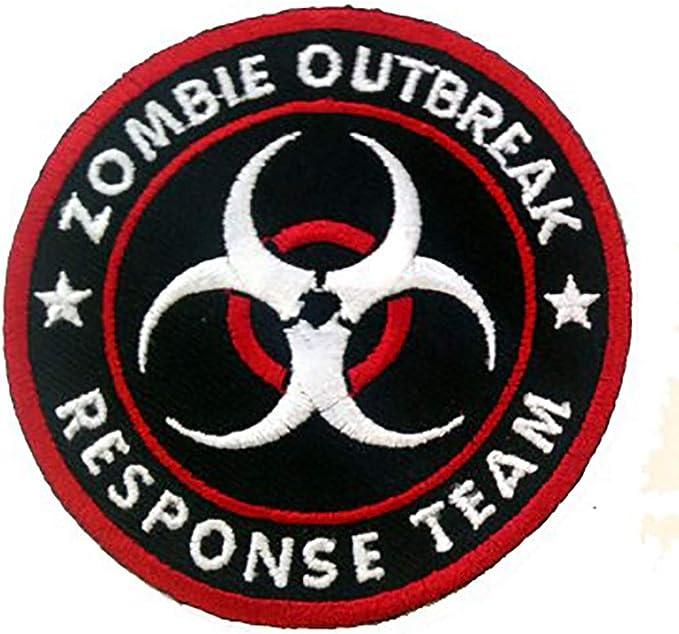 BIOHAZARD Outbreak Embroidered Iron On Patch 19 Response Team Zombie Apocalypse