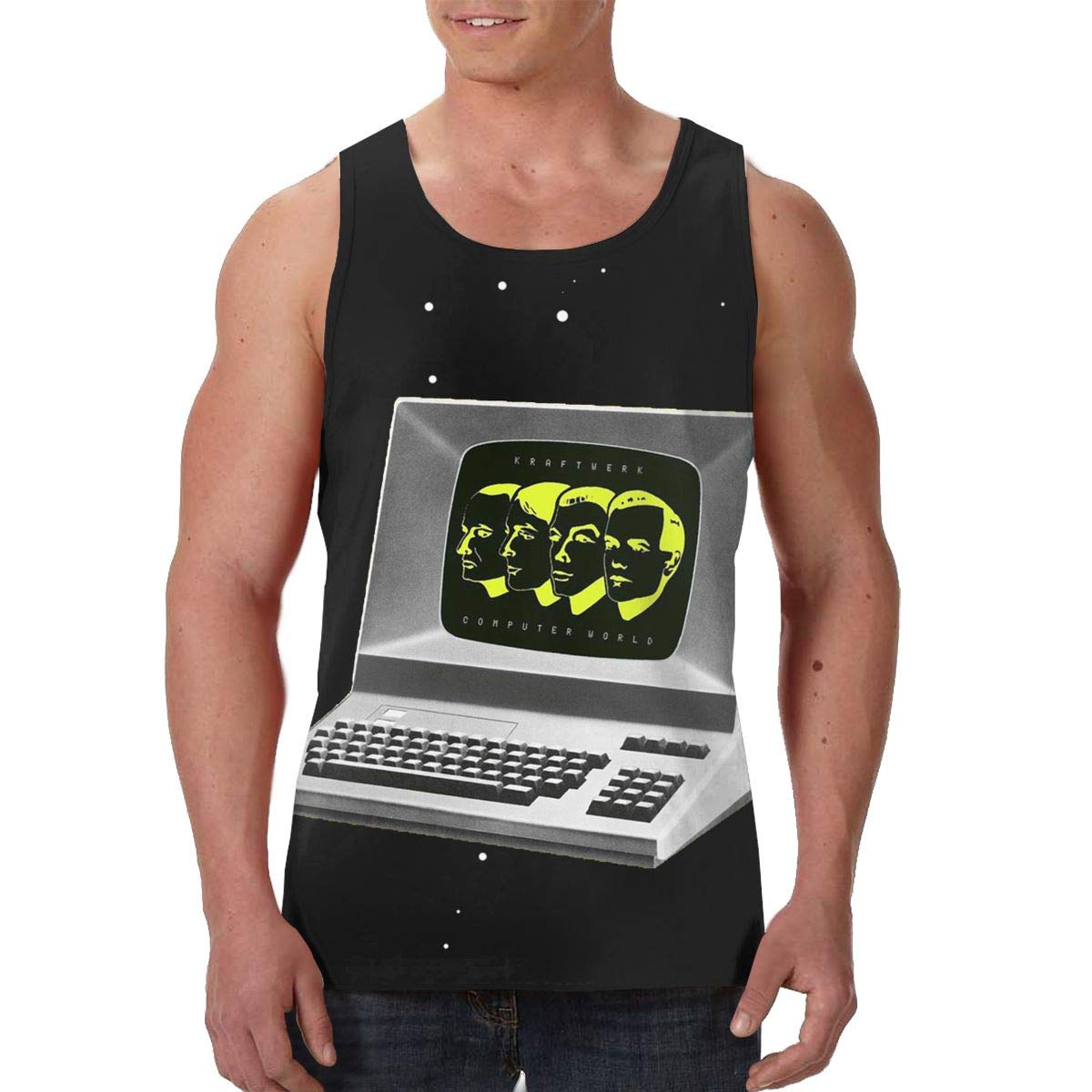Avisn Kraftwerk Computer World Classic Sleeveless Tank Top 3004 Shirts