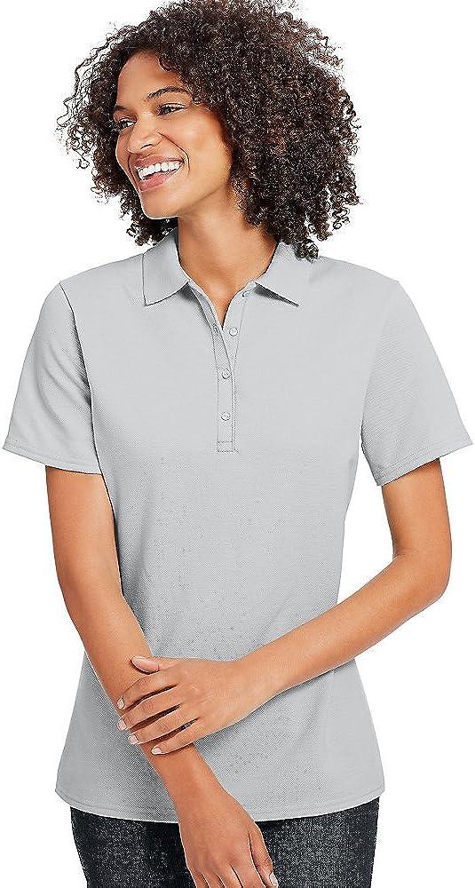 Hanes X-Temp Women's Pique Polo Shirt