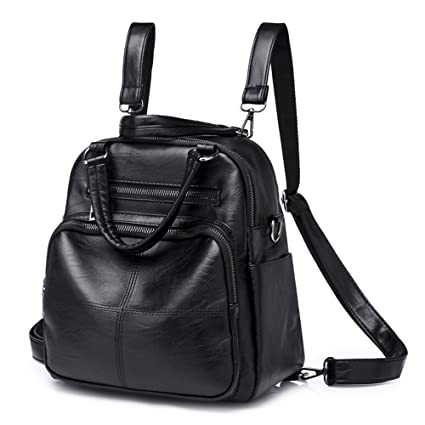 5050258652 Amazon.com   Jenify Plaid Women Backpack Female School Bags Teenager Girls  Soft PU Leather Backpacks Women Casual Tote   Sports   Outdoors