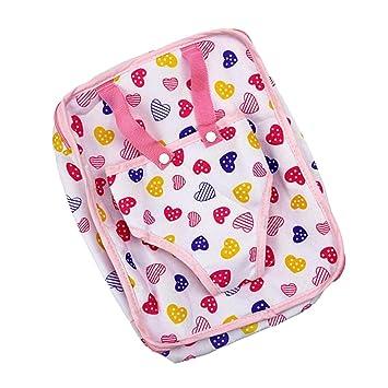 Puppentasche Rucksack für 18 American Girl Puppe Kleidung Zubehör Puppen & Zubehör