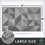 DEXI Indoor Doormat, Non Slip Absorbent Resist Dirt