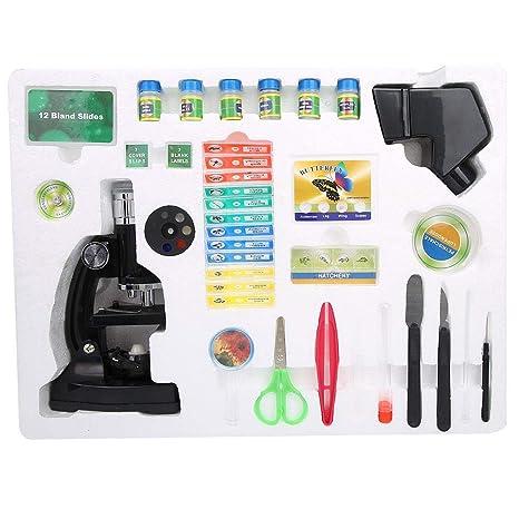 Microscopio biológico para niños, Microscopio biológico Zoom para ...