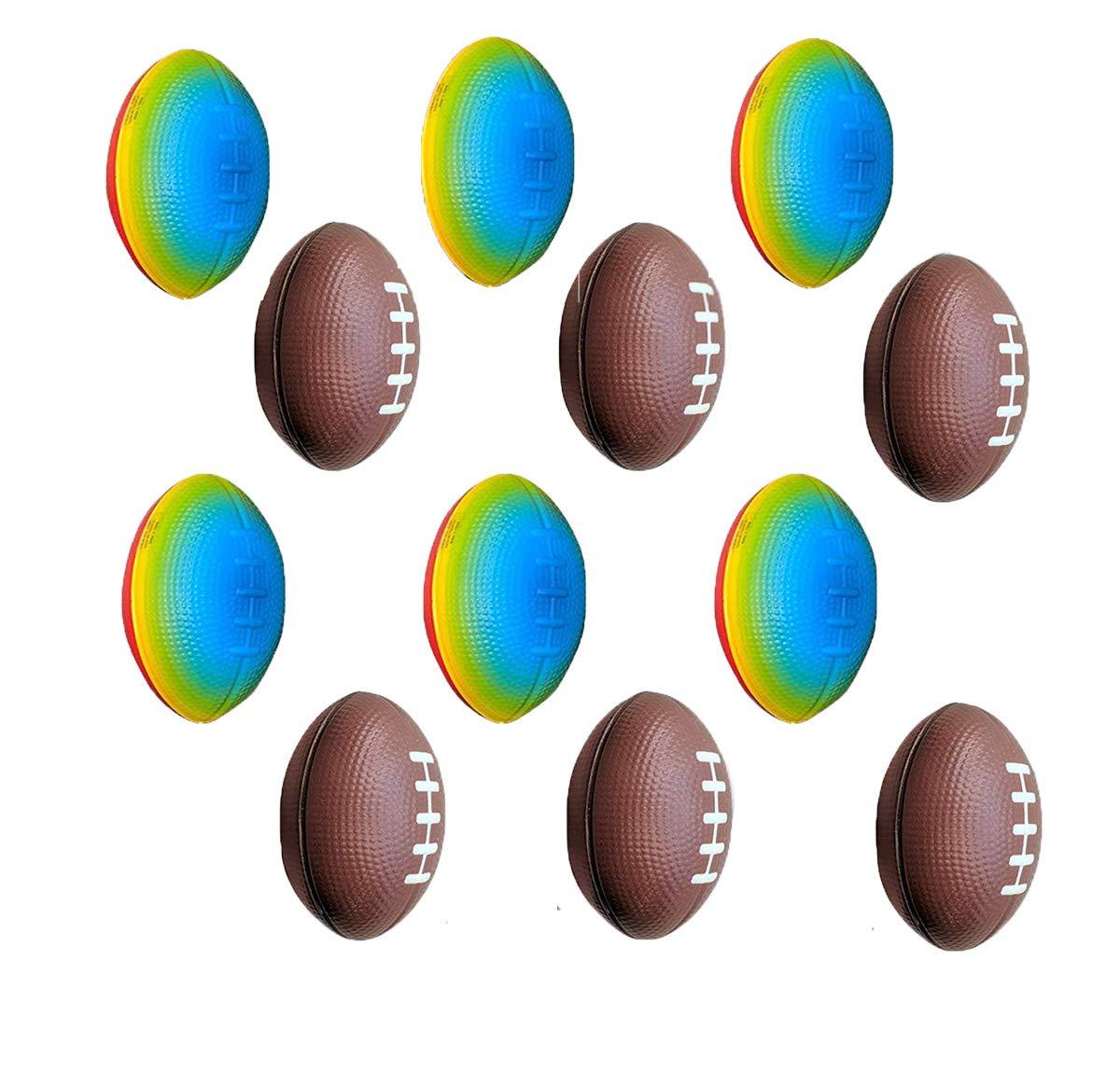OBI Mini Bolas de fútbol de Espuma para Deportes, 1 docena a ...