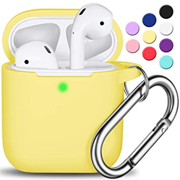 Amazon.com: Funda para AirPods con llavero, R-fun ...