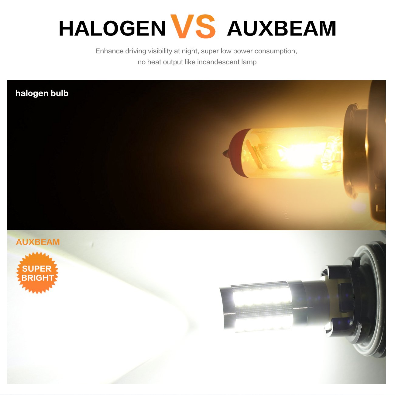 Auxbeam Extremely Bright T20 7440 W21w Led Bulbs 5730 Also In A Parallel Circuit The Are Brighter Because Current Chipsets 33smd Light Bulb Super White Reverse Back Up Tail Fog