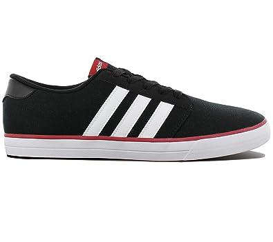 Schwarz Adidas Schuhe Sneaker Skaterschuhe Herren Skate Vs Sportschuhe Canvas Turnschuhe BWQdCxoer