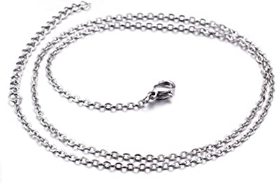 chaine collier acier homme
