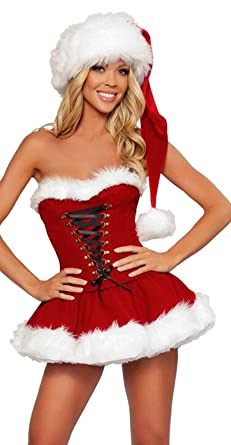 Sexy female santa costume