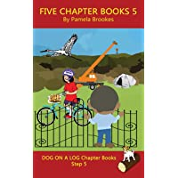 Five Chapter Books 5: Systematic Decodable Books for Phonics Readers and Folks with a Dyslexic Learning Style (DOG ON A LOG Chapter Book Collections)