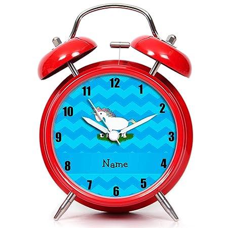 GIRLSIGHT Twin Bell Mute - Reloj Despertador con luz Nocturna y ...