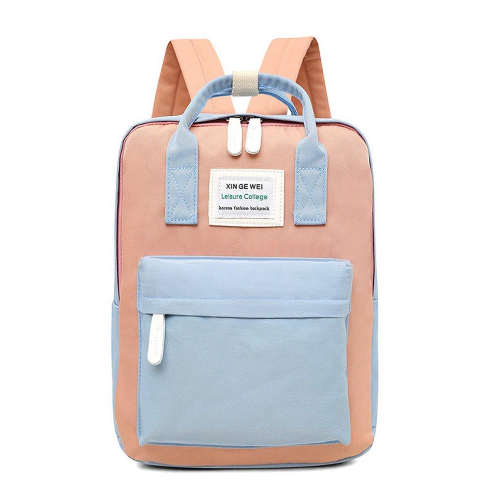 Women Backpack Fashion Waterproof Nylon Casual Shoulder Bag Preppy Style School Bag Rucksack