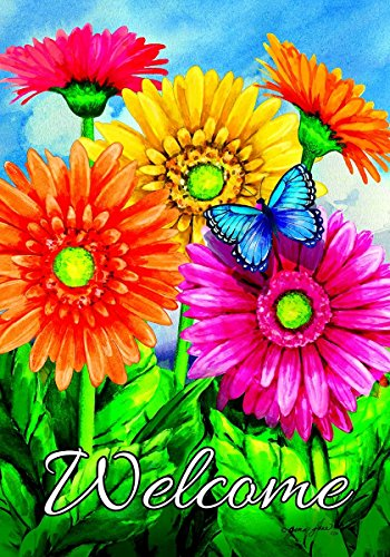 Custom Gerbera Welcome Garden 2677FM